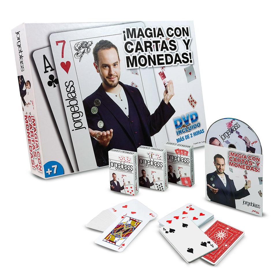Caja de Magia - Magia con Cartas y Monedas