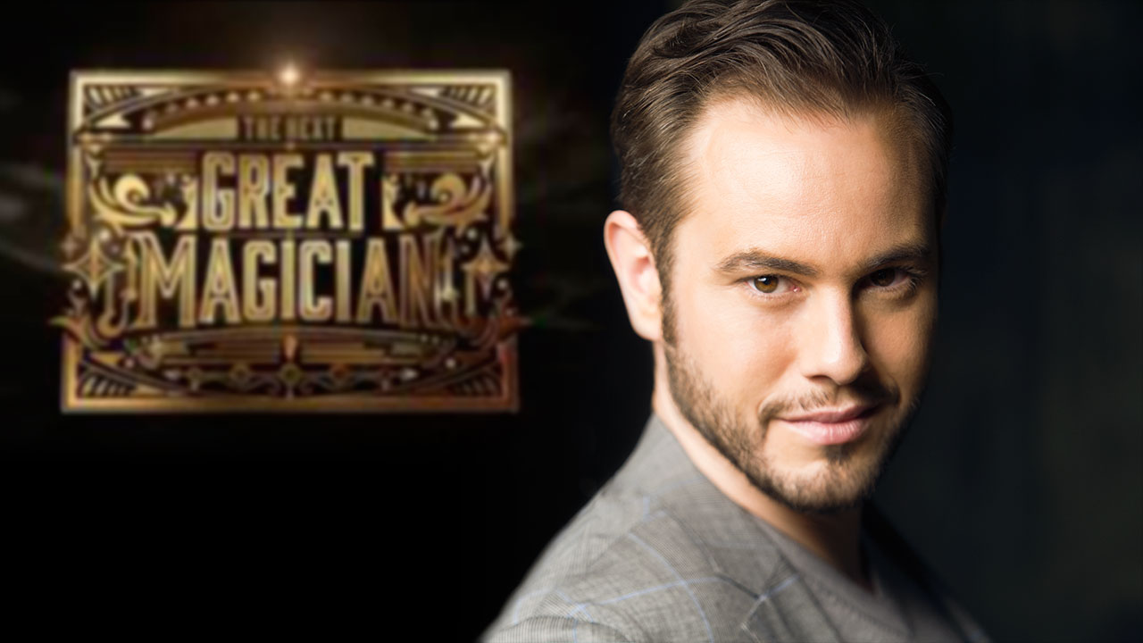Jorge Blass en el 'dream team' de 'The next great magician'