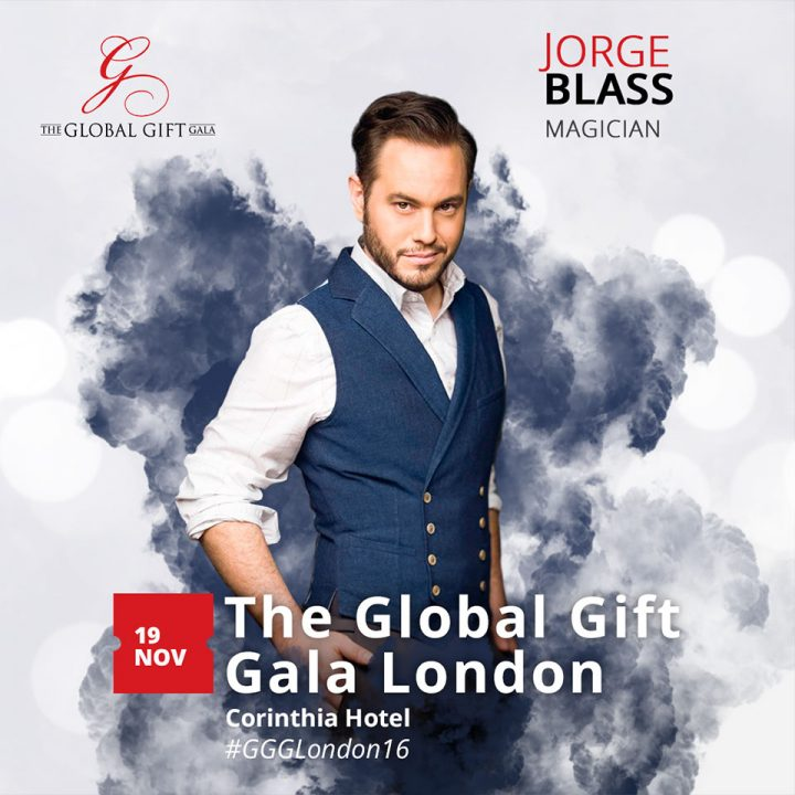Jorge Blass ¬ The Global Gift Gala London